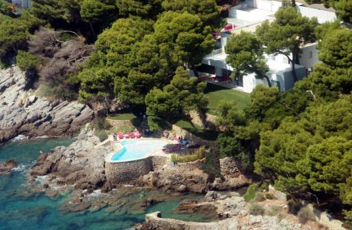 Imagen de la piscina de Pedro J. Ramírez en Son Servera.