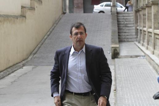 Fotografía de archivo de Miquel Nadal a su llegada a los juzgados de Palma