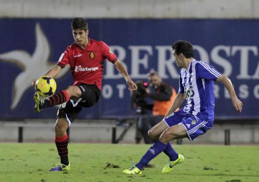 Fotografía de archivo del partido entre el Real Mallorca y la Ponferradina disputado en Son Moix.