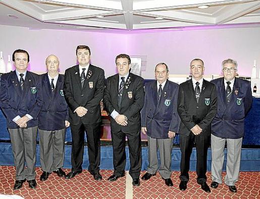 Salvador Gea, Joaquín Muñoz, Luis Martí, Antonio Barea, Toni Cladera, José Vega y Sebastià Triay.