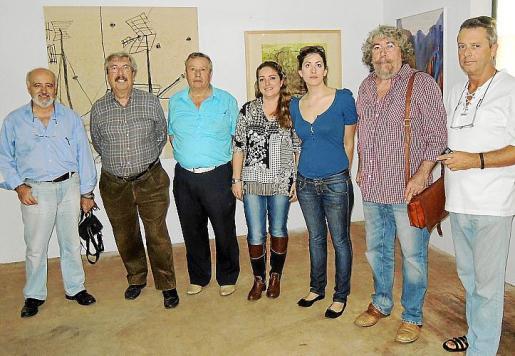 Miquel Reche, Daniel Codorniu, Toni Serra, Fanny Blasco, Isabel Serra, Emili Parejo y Sebastià Llabrés.