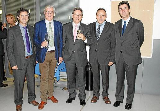Pedro Rullán, José Luis Roses, Xavier Mir, Rafel Crespí y José Nieto de la Cierva.