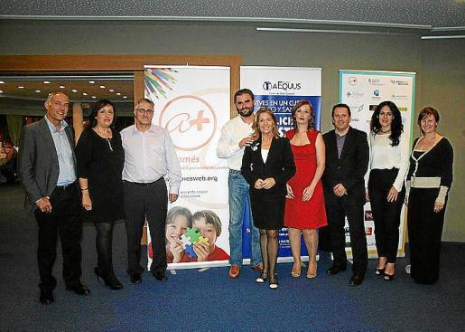 Rafael Barea, Mercedes Varela, Bartomeu Márquez, Álvaro Celdrán, Teresa Martorell, Pilar Díaz, Javier Cózar, Sandra Fernández y Aina Ferriol.