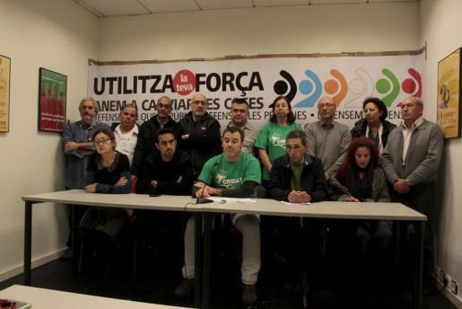 Imagen de la presentación de la manifestación que tendrá lugar el próximo sábado.