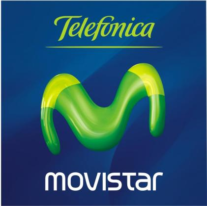 Logotipo de Telefónica Movistar.