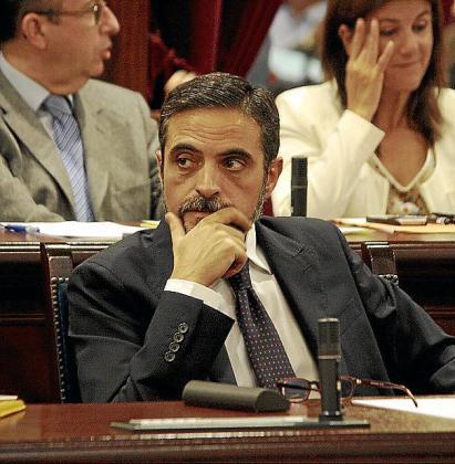 El conseller de Hisenda i Pressuposts, José Vicente Marí.