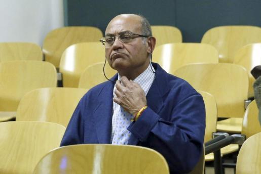 Gerardo Diaz Ferran, durante el juicio.