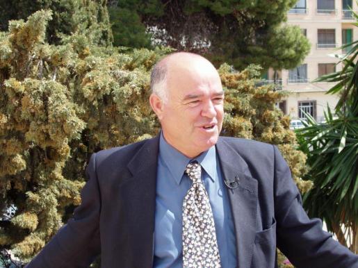 Jaime Amengual, ex presidente de la Federación Balear de Tenis, en una imagen de archivo.
