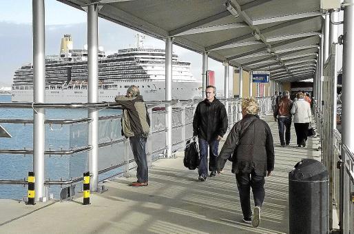 Los cruceros en invierno atraen cada vez a un mayor número de turistas.