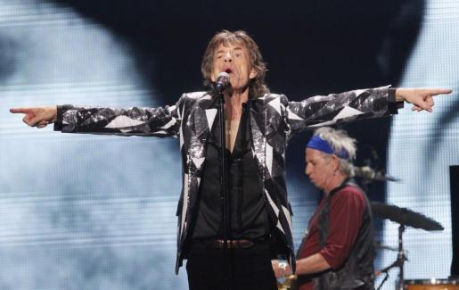 El cantante Mick Jagger, durante un concierto de The Rolling Stones en Los Ángeles.