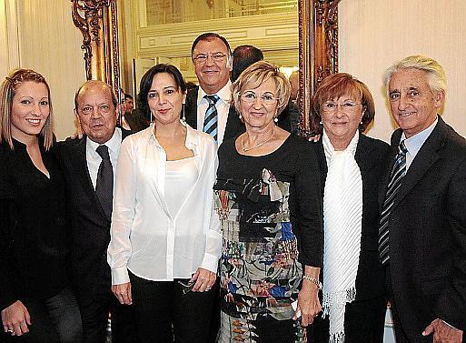 Nuria Vigo, Gabriel Abraham, Margarita Rotger, Pedro Arellano, Juana Román, Margarita Bordoy y Blai Vidal Bibiloni.