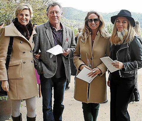 Patricia Conrado, Erik Wooger, Melanie Harcourt y Maria Juan de Sentmenat