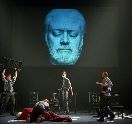 'Julio César', uno de los montajes teatrales que puedes ver en Mallorca estas fiestas.