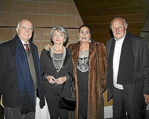 Rafael Ferragut, Mercedes Truyols, Maruja García-Nicolau y Martín Mora.