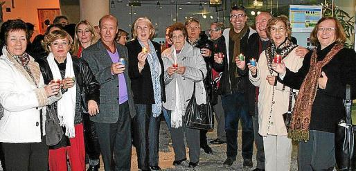 Soledad Román, Mercedes López, José Ruiz, María Oliver, Paz Román, Guillem Vaquer, Toni Vadell, Xisco Negre, Juana María Martínez y Antonia Andreu.