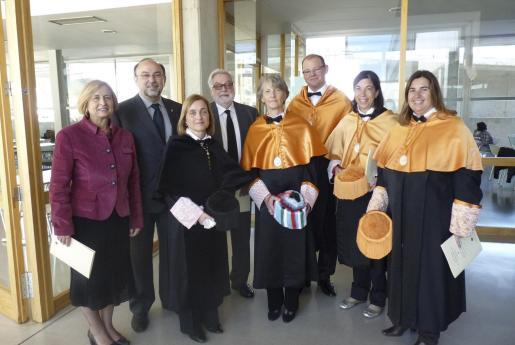 Mercé Amer, Bartomeu Llinás, Montserrat Casas, Feliciano Fuster, Nancy E. Bockstael, Antoni Riera, Margarita Payeras y Mariona Tugores.