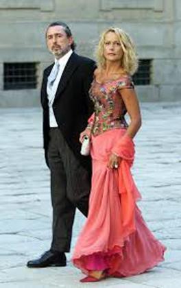 Carmen Rodríguez Quijano lució un vestido de Lorenzo Caprile.