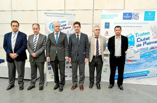 Palma Deportes Sede Autoritaria Portuaria Presentación del Ciutat de Palma Vela Foto Douglas González