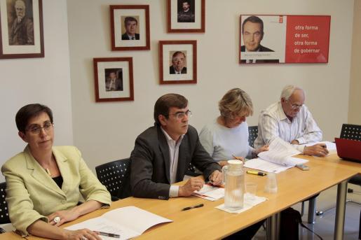 La ejecutiva del PSIB se ha reunido hoy en Palma.