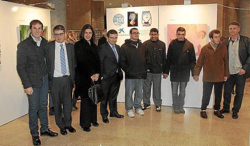 Bartomeu Martínez, Toni Company, Paloma Méndez, Juan Ramón Fuertes, Elbio Nery, Hasu Lakhurc, Jesús Guerrero, Joan Bonnín y Josep Alaminos.