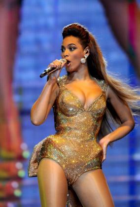 La cantante estadounidense de Beyoncé.