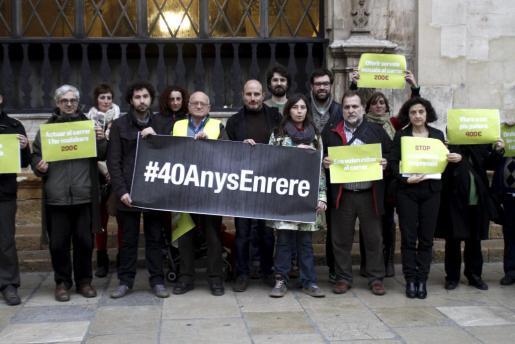MÉS quiere movilizar a la ciudadanía contra la ordenanza de convivencia cívica de Palma.