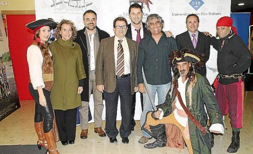 Aina Calvo, Jordi Llabrés, Llorenç Huguet, Christian Roses, Juan Montes de Oca y Pep Carrillo