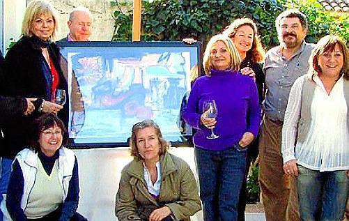 Ascensión Verd, Catalina Marqués, Carlos Fernandez-Salaberri, Teresa Alonso, Laura Sintes, Maria Luisa Vallés, Gaspar Aguiló y Lumi Sintes.