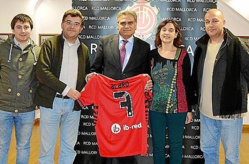 Llorenç Perelló, Joan Simonet, Biel Cerdà, Mª Antonia Cifre y Gregorio García-Villaraco.