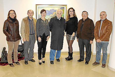 Cati Ballester, Jacinto Fernández, Mª José Frau, Miquel Garau, Rosa Vanrell, Paco Frau y Toni Jordà.