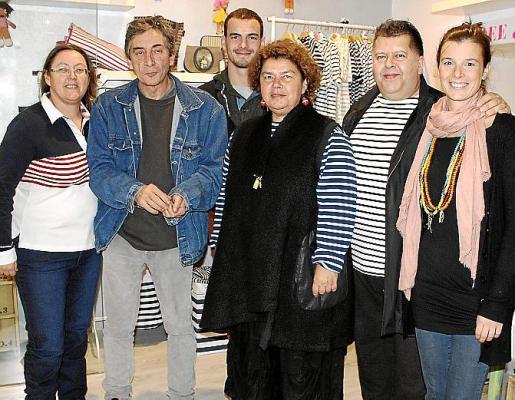 Isabel Alemany, Moncho Trullos, Guillaume Raux, Teresa Juan, Pep Guerrero y Luisa Serra.