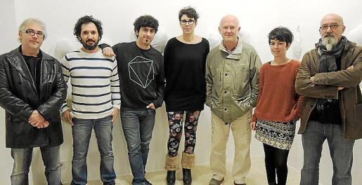 Joan Barrantes, Joan Peix, Pol Font, Aina Cifre, Luis Vidal, Cati Bennàssar y Miquel Mesquida.