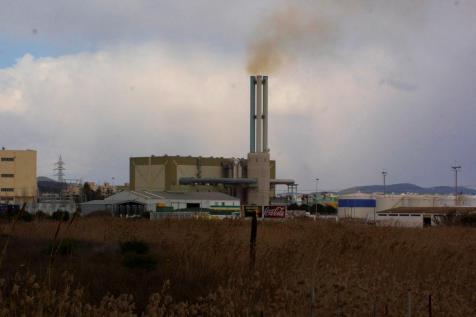 Imagen de una de las centrales eléctricas de Endesa en Eivissa.