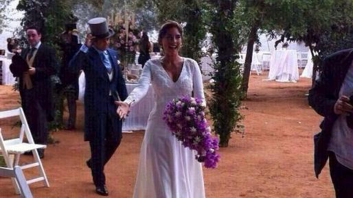 Fran Rivera y Lourdes Montes se casaron en septiembre de este año.