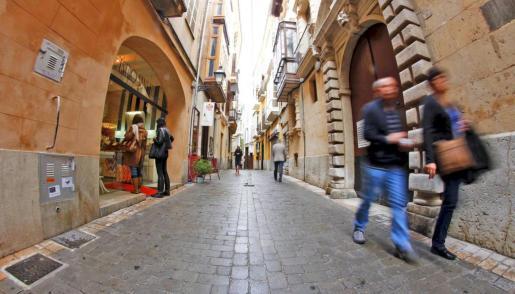 La calle Sant Feliu es uno de los viales con más historia de Palma.