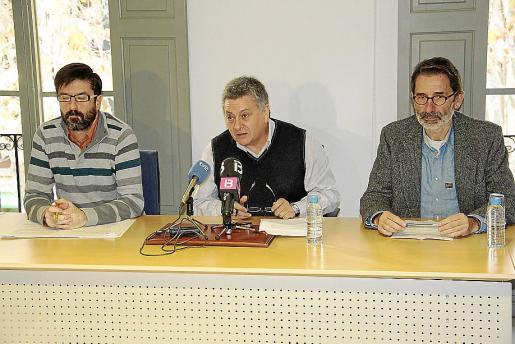 Pere Manel Mulet, Jaime Bueno y Miguel Reyero.