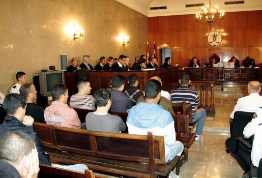 El 'macrojuicio' sentó en el banquillo a un total de 33 acusados.