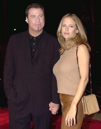 John Travolta y Kelly Preston, en una imagen de archivo.