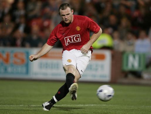 Wayne Rooney, durante un partido.