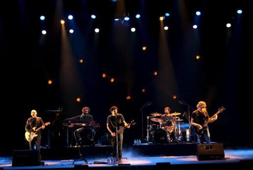 Imágen del concierto de anoche en el Teatre Principal.