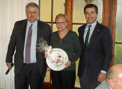Rafael Roig, Xisca Cardell y Gabriel Company.