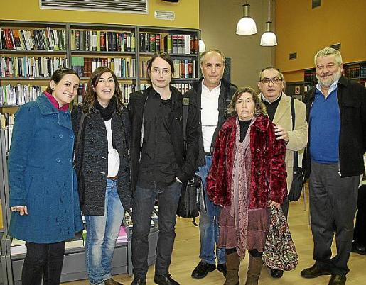 Irene Galán, Montse Pereyra, Pere Capellà, Tom Boig, Margalida Capellà, Miquel López Crespí y Bernat Sureda.
