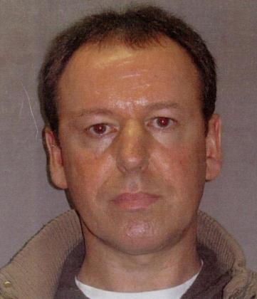 Foto facilitada hoy por la fundación Crimestoppers, que muestra a Martin Anthony S., de 44 años, el pederasta más buscado en Reino Unido y pareja de la parricida británica acusada de matar a sus dos hijos en un hotel de Lloret de Mar (Girona).