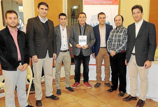 Andreu Villalonga, Julio Martínez, Dani Barjacoba, Jeroni Salom, Albert Salas, Pere Daniel Pol y Fernando Gilet.