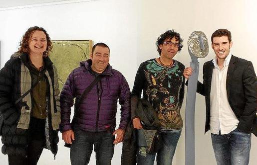 Magdalena Abrines, Miquel Sampol, Pep Coll Bernat y Biel Perelló.