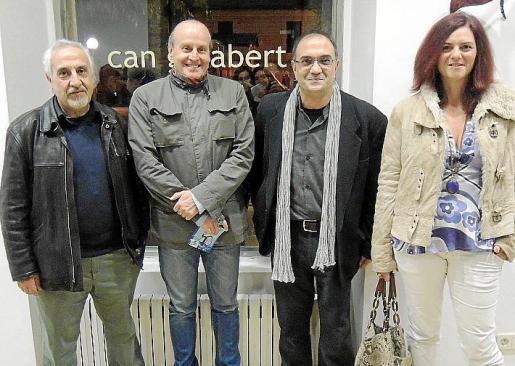 Vicenç Torres, Toni Crespo, Miquel Segura y Cati Vallés.