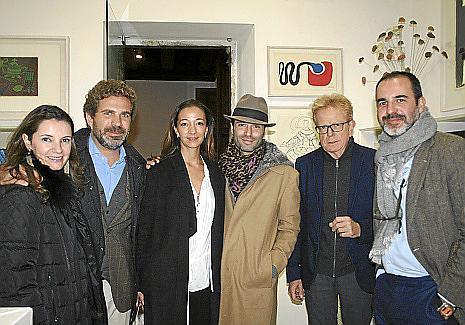 Maysi Pujadas, Juan Nadal, Gabriela Wolfer, Philippe Schorlemer, Jaime García Ruiz y Luis Fernández.