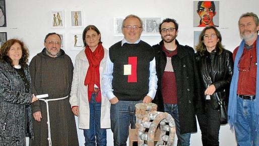 Magdalena de Miguel, Josep María Cigarra, Caterina Bonnín, Antoni Torres, Félix Coll, Rosa Vallejo y Joan Costa.
