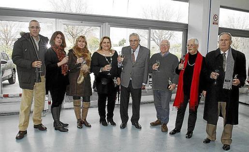 Carlos Andreu, Ángela Moreda, Miriam Far, Pepi Nieto, Pere A. Serra, Andrés Valente, Gabriel Kunze y Toni Català.