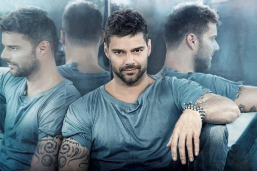 Fotografía facilitada por Sony del puertorriqueño Ricky Martin.